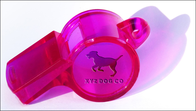 Dog Training Whistle form XYZ Dog Company