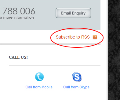 "Copy feed URLs to your clipboard from ""subscribe to RSS"" buttons"
