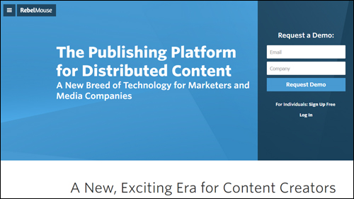 RebelMouse - Publishing platform for distributed content
