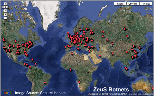 The Zeus botnet has been actively compromising computer networks all around the globe since 2009.