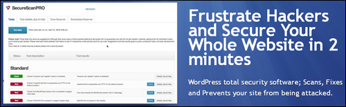 SecureScanPro - WordPress total security software
