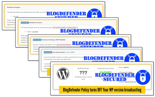 Blog Defender Security Product Suite For WordPress