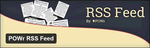Powr RSS Feed - WordPress Plugin
