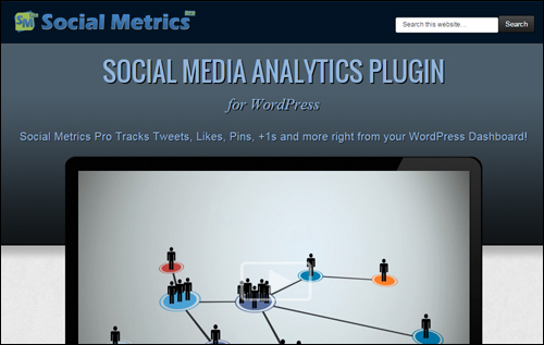 Social Metrics Pro WordPress Social Plugin
