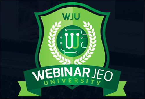 Webinar JEO's Webinar University
