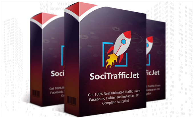 SociTrafficJet - Social Media Marketing Automation Tool