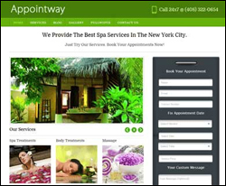 Appointway -<br /> WordPress Theme For Appointment Scheduling