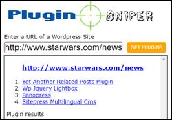 Plugin Sniper - WordPress Plugin Detection Tool