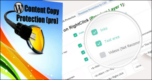 WP Content Copy Protection Pro