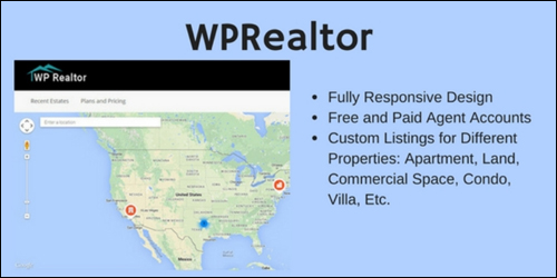 WordPress Theme - WP Realtor