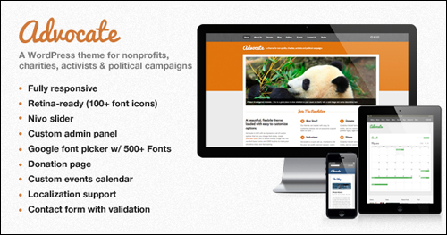 Advocate WordPress Theme