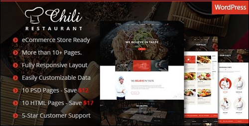 WordPress Theme - Chili