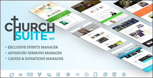 WordPress Theme - Church Suite