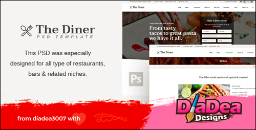 The Diner WordPress Theme