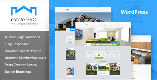 Estate Pro Theme For WordPress
