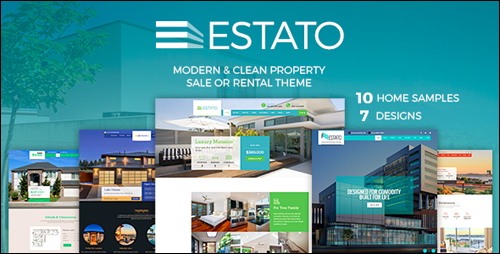 WordPress Theme - Estato