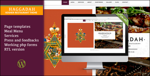 Haggadah Theme For WordPress