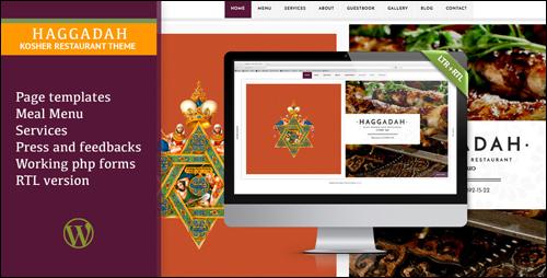 WordPress Theme - Haggadah