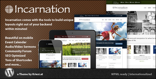Incarnation Theme For WordPress