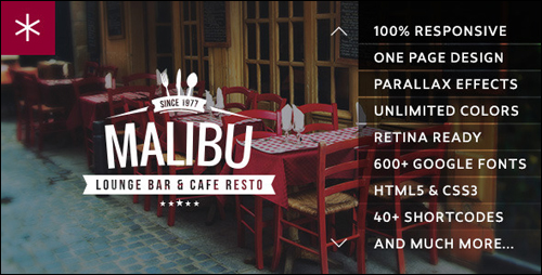 Malibu WordPress Theme