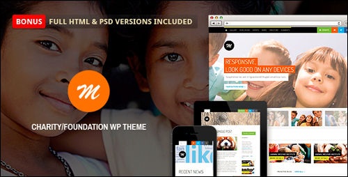 WordPress Theme - Mission