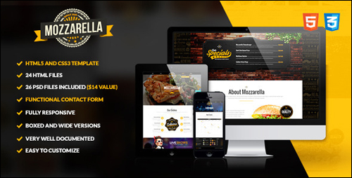 Mozzarella Theme For WordPress