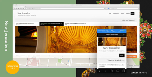 New Jerusalem Theme For WordPress