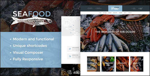 WordPress Theme - Seafood