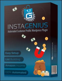 Instagenius - Amazon Sales And Lead Management Plugin For WordPress