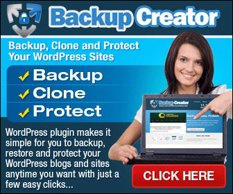 Backup Creator - Back Up, Clone And Keep Your WP Web Site Protected
