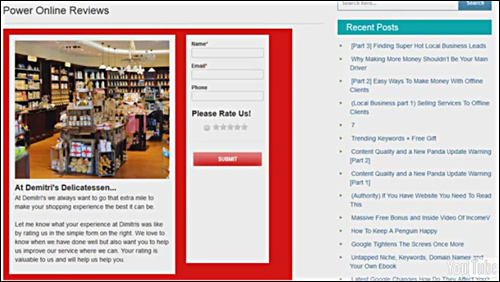 Power Online Reviews - WordPress Plugin For Management Of Customer Reviews