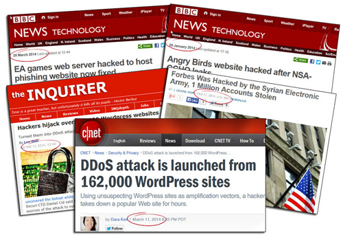 Thousands of websites and blogs are attacked every year! Could yours be next?
