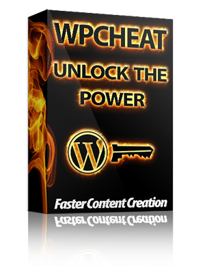 WP Cheat - Create Web Content Faster Without HTML Knowledge