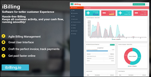 iBilling - Accounting and Billing Software Plugin For WordPress