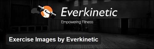 Exercise Images by Everkinetic - WordPress Plugin