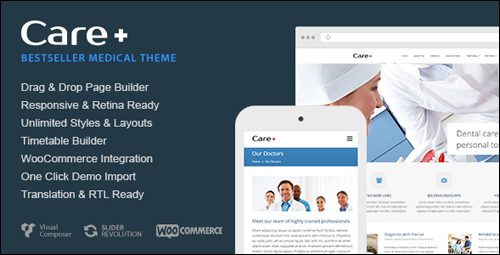Care Theme For WordPress