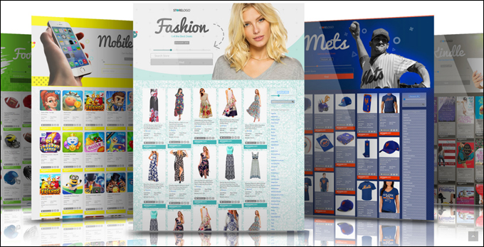 StreamStore includes fully customizable storefront templates suitable for all niches