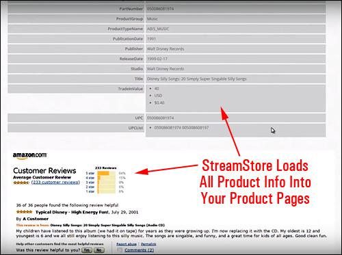 Amazon Product Info