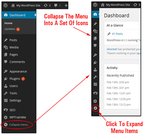 Your WordPress Dashboard Explained