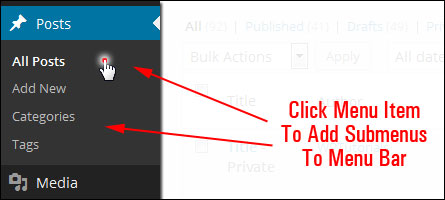 How To Navigate Inside Your WP Dashboard