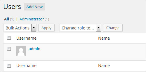 Changing Your Admin Username In WordPress To Another User Name