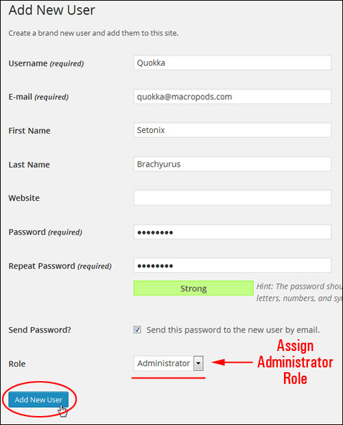 Changing Your WordPress Admin User Name To A Different Username