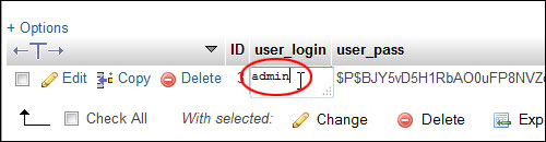 Changing Your WP Admin Username