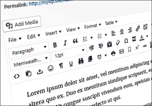 How To Enhance The WordPress Visual Editor