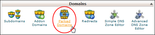 Domains - Parked Domains