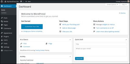 New WordPress Site - Welcome To WordPress!