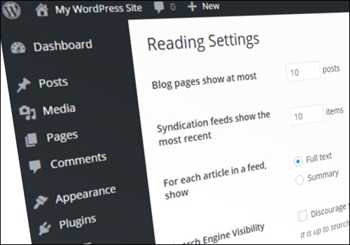 How To Configure WordPress Reading Settings - Step-By-Step Tutorial