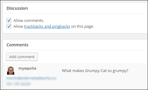 How To Configure Your WordPress Site - Discussion Settings