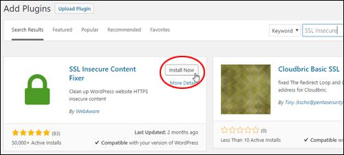 SSL Insecure Content Fixer - Install Now