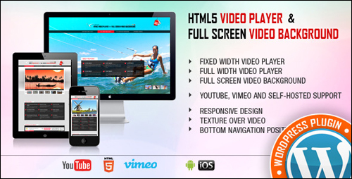 Video Player & FullScreen Video Background WordPress Plugin